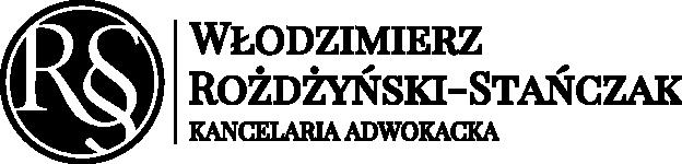 Logo - Kancelaria Adwokacka Włodzimierz Rożdżyński-Stańczak